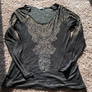 Maurices thin long sleeve top